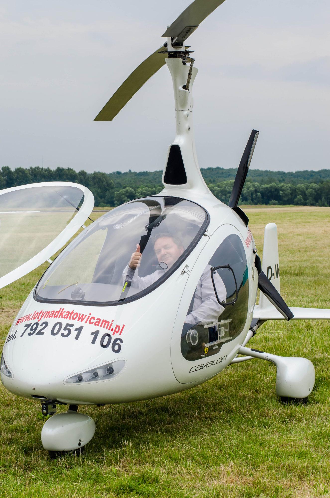 Wiatrakowce, wirtualny spacer, helikoptery